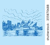 the sydney opera house in...