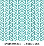 geometric seamless pattern in... | Shutterstock .eps vector #355889156