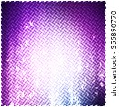 abstract halftone background... | Shutterstock .eps vector #355890770