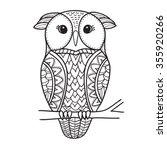 Cute Decorative Ornamental Owl...