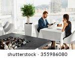 couple in love having romantic... | Shutterstock . vector #355986080