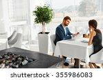 couple in love having romantic... | Shutterstock . vector #355986083