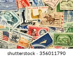 postage stamps | Shutterstock . vector #356011790
