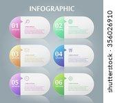 simplicity infographic design... | Shutterstock .eps vector #356026910