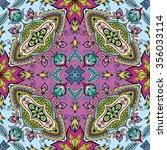 vector seamless pattern  floral ...   Shutterstock .eps vector #356033114