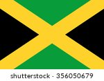 jamaica flag background... | Shutterstock . vector #356050679
