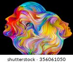 colors of unity series.... | Shutterstock . vector #356061050