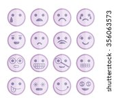 emoticon icons | Shutterstock .eps vector #356063573