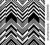 seamless zigzag pattern.... | Shutterstock .eps vector #356064440