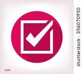 tick icon   Shutterstock .eps vector #356070950