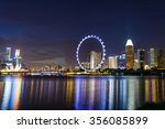 singapore skylines  downtown... | Shutterstock . vector #356085899