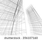 3d building | Shutterstock . vector #356107160