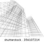 3d building | Shutterstock . vector #356107214