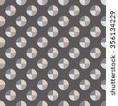seamless decorative vector... | Shutterstock .eps vector #356134229