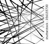 messy linear pattern vector | Shutterstock .eps vector #356155730