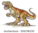 dinosaur | Shutterstock .eps vector #356198150