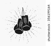 Vintage Boxing Gloves Hanging...