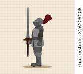 Knight Theme Elements Vector Eps