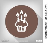 pictograph of cake | Shutterstock .eps vector #356315294