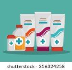 medical healthcare grapic... | Shutterstock .eps vector #356324258