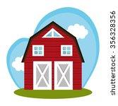 farm fresh graphic design ... | Shutterstock .eps vector #356328356