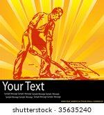 dig it  | Shutterstock .eps vector #35635240