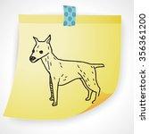 dog doodle   Shutterstock .eps vector #356361200