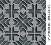 seamless star pattern. vector... | Shutterstock .eps vector #356368790