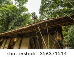 du fu thatched cottage park in... | Shutterstock . vector #356371514