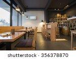 interior of a modern wine bar | Shutterstock . vector #356378870