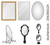 mirrors | Shutterstock .eps vector #356383124