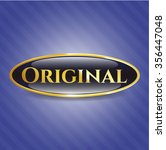 original gold emblem | Shutterstock .eps vector #356447048