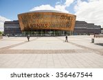 cardiff  wales may 22  2013.... | Shutterstock . vector #356467544