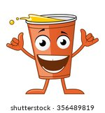 glass cartoon character | Shutterstock . vector #356489819