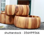 wooden barrels used to wash the ... | Shutterstock . vector #356499566