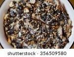 silesian poppy seeds dessert.... | Shutterstock . vector #356509580