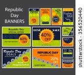 vector illustration of a banner ... | Shutterstock .eps vector #356520440