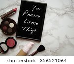 cosmetic table | Shutterstock . vector #356521064