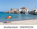 milos  greece   september 11 ...   Shutterstock . vector #356545154