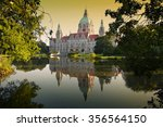 Stock photo new town hall building rathaus in hannover germany 356564150