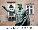 Statue S.p.q.r. Imp Caesar...
