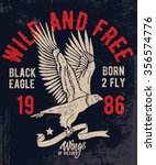 Eagle Illustration With...