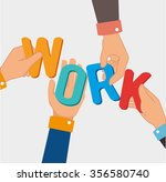 business teamwork graphic... | Shutterstock .eps vector #356580740