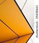 modern building exterior in... | Shutterstock . vector #35658661