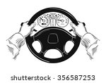 driver design element with... | Shutterstock .eps vector #356587253