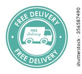 delivery and logistic business... | Shutterstock .eps vector #356587490