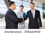 interview. | Shutterstock . vector #356626943