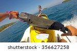 jet ski driving pov | Shutterstock . vector #356627258