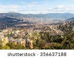 aerial view of medellin ... | Shutterstock . vector #356637188