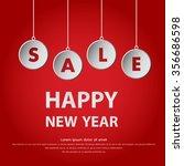happy new year | Shutterstock .eps vector #356686598